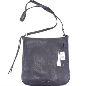 Authentic Rebecca Minkoff Grey Regan Feed Bag NWT
